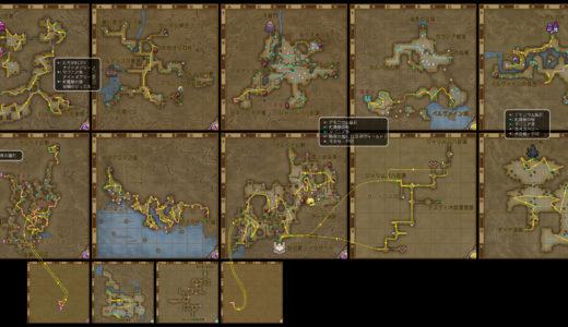 【金策】v5.2版キラキラマラソンマップ ~カオスベリー、デモニウム鉱石、紅魔樹の板、マゴニア草~