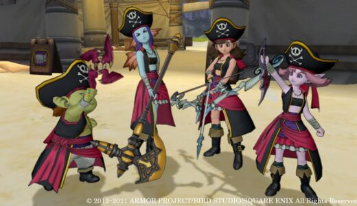 【6.0】新職業『海賊』の情報が公開。銃や大砲を使った広範囲の特技が魅力
